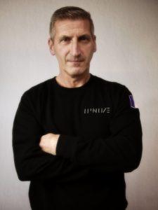 Ipnoze Portrait de Lionel Pellegrina, l'artiste